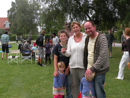 Vinderfamilien fra boccia tuneringen 2009